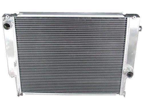 E30 Radiator Hose - Aluminum 2 Rows Radiator For 82-94 BMW E30 Manual Transmission