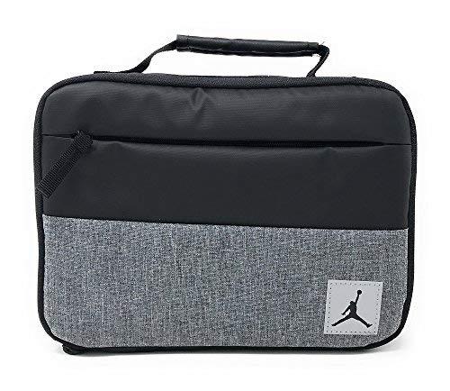 Nike Jordan Kids Pivot Insulated Lunch Box, Black -