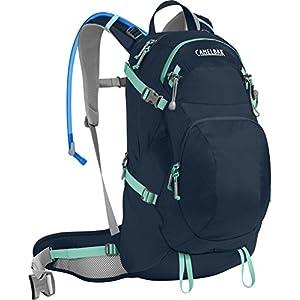 CamelBak Women's Sequoia 22 Crux Reservoir Hydration Pack, Navy Blazer/Mint Green, 3 L/100 oz