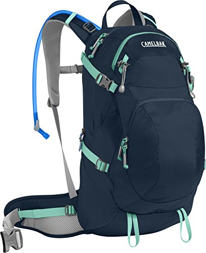 CamelBak Women's Sequoia 22 Crux Reservoir Hydration Pack, Navy Blazer/Mint Green, 3 L/100 oz