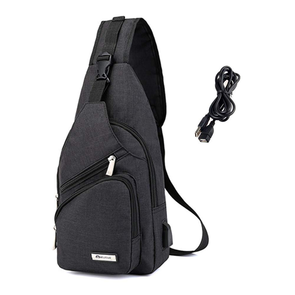 Bolsa bandolera para hombre, de Light Rain, mochila de viaje, deporte, uso al aire libre, gimnasio, ciclismo, camping, senderismo Ba Yue Ke Ji