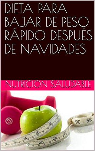 Dietas saludables para bajar peso rapido