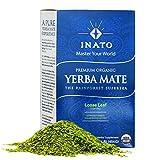 INATO | PREMIUM Organic Yerba Mate | Rainforest Grown | Air Dried | 100% Leaves | NO Stems, NO Dust | FRESH - NEVER Aged | Single Producer