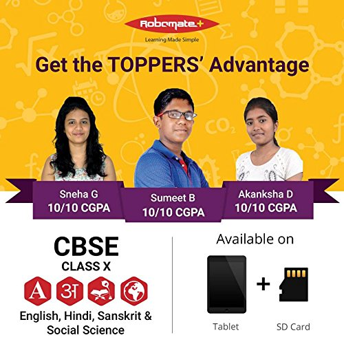 Buy mahesh tutorials' robomate+ class 10 ssc mh board semi english.