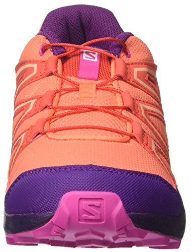 Orange Coral 57 Violet Mixte EU Rose Enfant Speedcross J Chaussures Acai Bleu Trail Living 34 de Salomon wHpAqWv