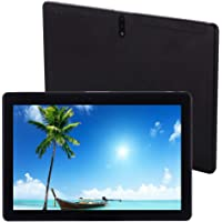 10.1 Inch Tablets Android 9.0 System, 4G LTE Phablet 10 Tablet PC-,Deca-Core Processor, 2.8GHz, 6GB RAM, 64GB ROM, 1920x1200 HD IPS Screen, Dual SIM, Dual Camera, WiFi, GPS,OTG (Black)