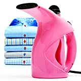 Business100 Portable Steamer, 200ML Portable Garment Steamer, Steamer for Clothes, Heat-up Premium Fabric Steam Cleaner, Safe, Lightweight & Perfect Clothing Steamer for Travel Home