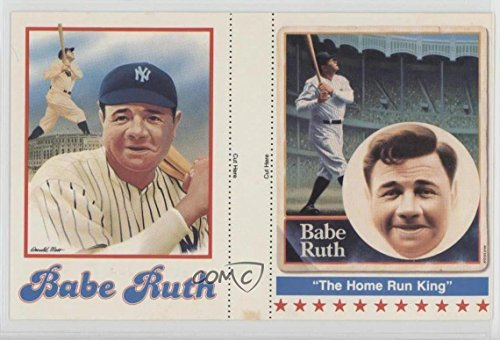 Babe Ruth (Baseball Card) 1983 Fleetwood First Day Covers Promos - [Base] - Panels - Fleetwood Panel