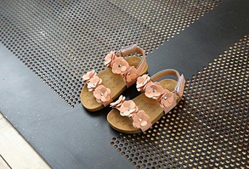 IGEMY - Sandalias de vestir de Pu para niña rosa