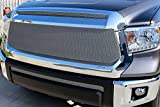 2014 tundra grill - GrillCraft TOY1968S MX Series Silver Upper 2pc Mesh Grill Grille Insert for Toyota Tundra