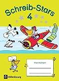 Schreib-Stars: 4. Schuljahr - Übungsheft: Mit Lösungen
