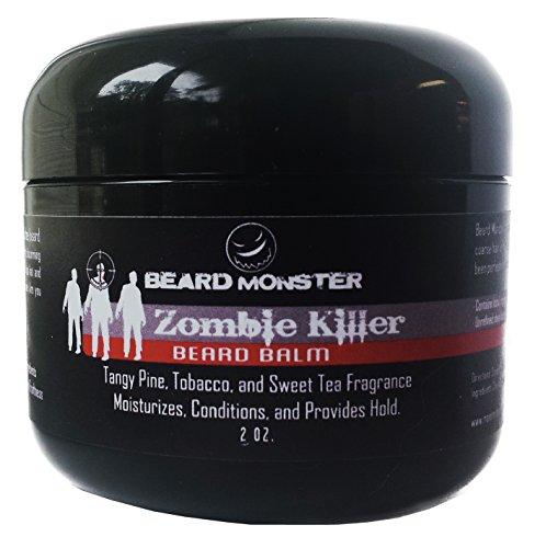 Zombie Killer barbe Baume cire tabac pin thé 2 oz.