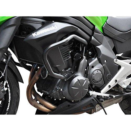 /16/paramotore della cinghia tracolla spaziale protezione motore Crash Bars NERO Ibex Kawasaki Er 6/N BJ 12/
