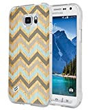S6 Active Case Vintage Art - Case For Galaxy S6 Active - Replacement Cover For Samsung S6 Active - Protective Personalized Cover (Slim Flexible TPU Protective Silicone)