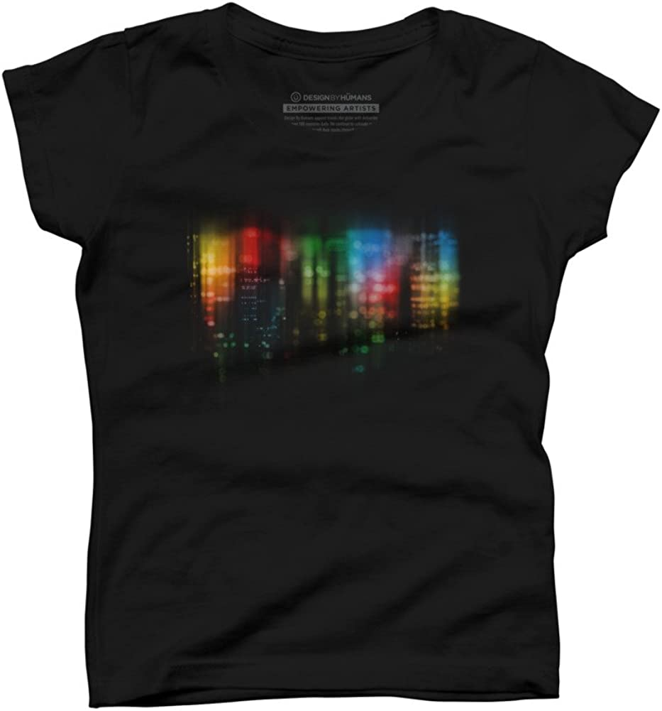 city at night Girls Youth Graphic T Shirt Design By Humans