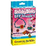 Creativity for Kids Shrink Fun BFF Jewelry Mini Craft Kit - Create and Bake 4 Friendship Bracelets