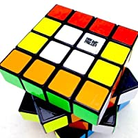 4x4x4 YJ Moyu Weisu Black Speed Cube Puzzle Smooth Toy 4x4