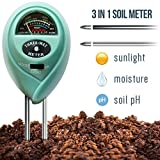 Kyпить 7Pros 3 in 1 Soil Tester Moisture Meter, Light and PH acidity Tester, Plant Care Tester for Garden, Farm, Lawn, Indoor & Outdoor (No Battery needed) Easy Read Indicator на Amazon.com