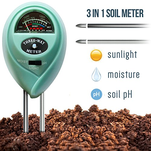 Find Bargain 7Pros 3 in 1 Soil Tester Moisture Meter, Light and PH acidity Tester, Plant Care Tester...