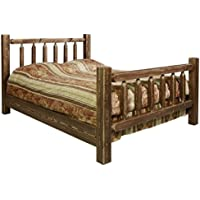 Montana Woodworks MWHCQBSL Homestead Collection Bed, Queen, Stain & Lacquer Finish