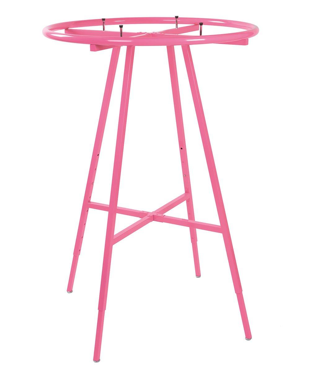 Hot Pink Round Clothing Rack
