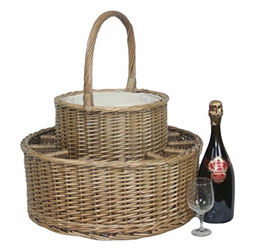 Chilled Drinks Picnic Basket by Red Hamper