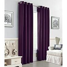 Eggplant Color Curtains