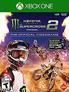 Monster Energy Supercross - The Official Video Game 2 - Day 1 Edition - Xbox One (B07K2VWTX8) | Amazon price tracker / tracking, Amazon price history charts, Amazon price watches, Amazon price drop alerts