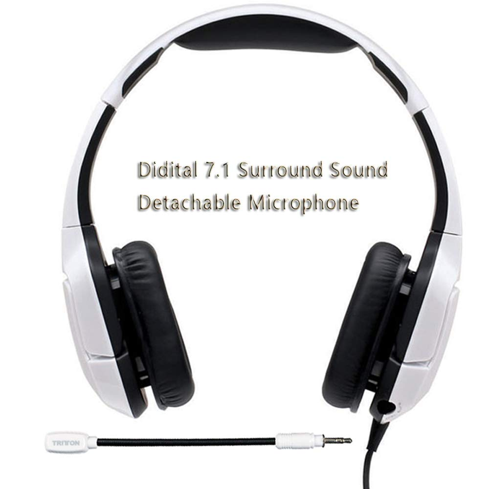 TRITTON Kunai Pro Con cable de 7.1 canales de sonido envolvente USB PC Computer Gaming Headset Auriculares de oído con micrófono: Amazon.es: Electrónica