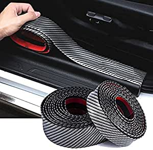 3FT//1M Black Car Door Moulding Trim Rubber Strip Scratch Protector Edge Guard