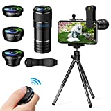 Best Iphone Lens Kits - Phone Camera Lens, 4 in 1Cell Phone Lens Review