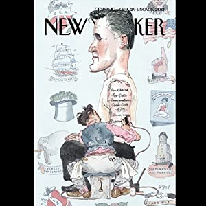 The New Yorker, October 29th & November 5th 2012: Part 2 (Dexter Filkins, Jane Mayer, Adam Kirsch) Periodical