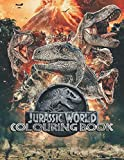 Jurassic World Colouring Books: Over 40+ Colouring Pages of Jurassic World To Inspire Creativity and Relaxation. Perfect Gifts for Adults and Kids