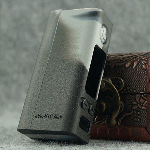 Silicone Case for eVic VTC MINI Sleeve Joyetech 60W Temp Control Box Mod Skin (grey/black)