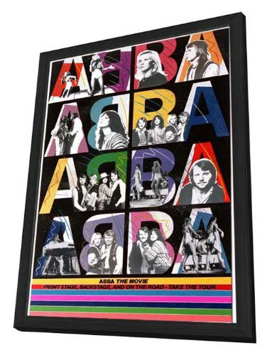 Used, Abba: The Movie - 11 x 17 Framed Movie Poster for sale  Delivered anywhere in USA