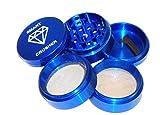smart crusher herb grinder - SMART CRUSHER 5 Piece Blue Tobacco Spice Herb Grinder