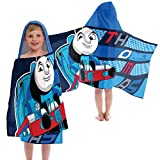 Thomas The Tank Engine Color Block Cotton Hooded Towel