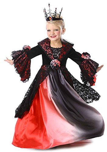 [Princess Paradise Valentina Vampire Costume, Multicolor, Small/6] (Halloween Costumes For Group Of 6 Adults)
