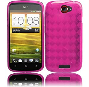 Hot Pink TPU Case Cover for T-Mobile HTC One S