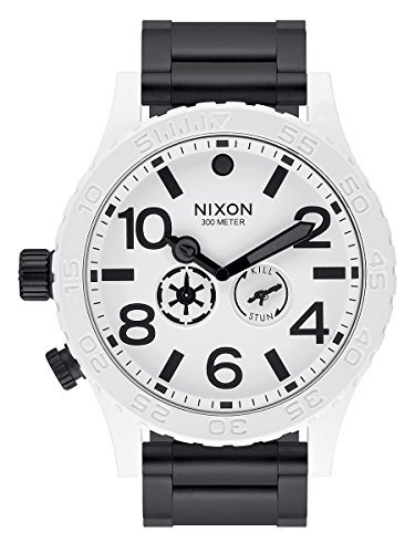 (Nixon - 51-30 - Star Wars Stormtrooper Collector's Edition - Black White - A172SW-2243)