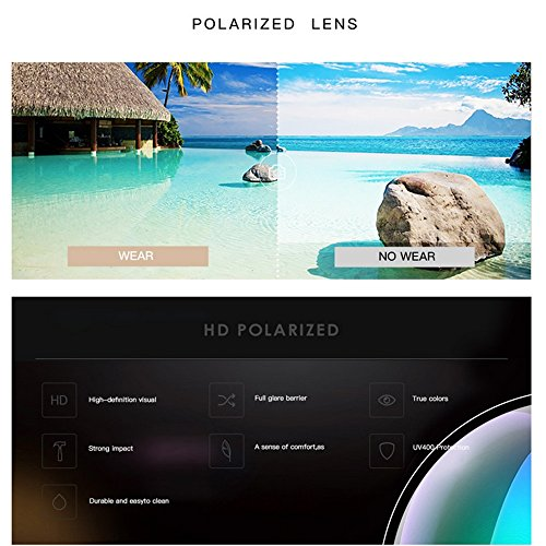 De Sunglasses Magnesio Polarizadas LBY para Gafas de Y Hombre para Sol Gafas Cool Hombre Aluminio Sol De q5Htp