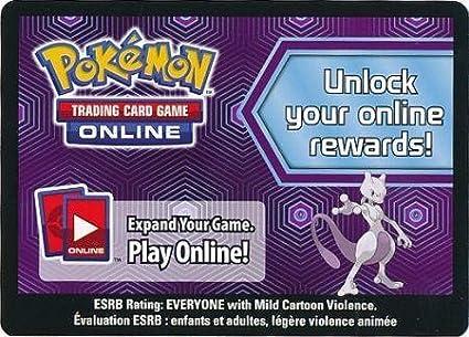 Amazon.com: Pokemon – Caja de Colección de Mewtwo sin usar ...