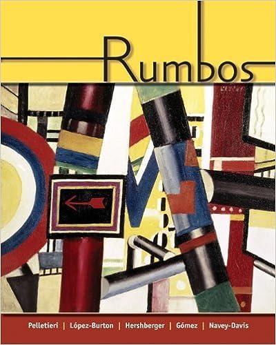 Rumbos (with Audio CD) 1st edition by Pellettieri, Jill, Lopez-Burton, Norma, Hershberger, Robert, (2005)