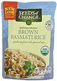 Seeds Of Change, Rth Rice Basmati Brn Rish, 8.5 OZ (Pack of 12) ( Value Bulk Multi-pack)