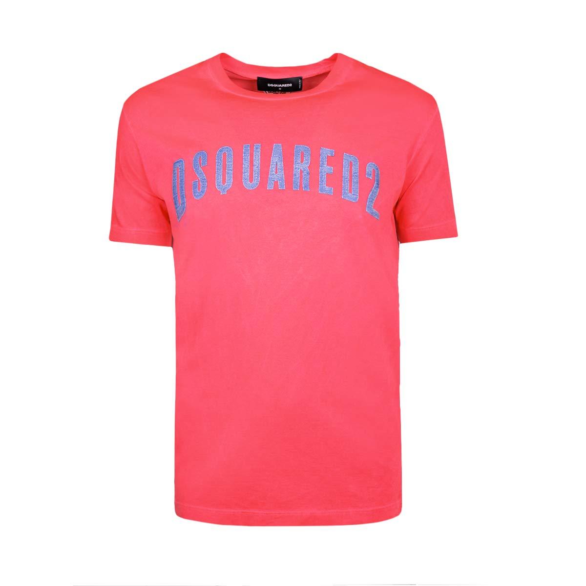DSQUARED2 ďťżT-Shirt Uomo S74GD0211 S22427304 Rosso