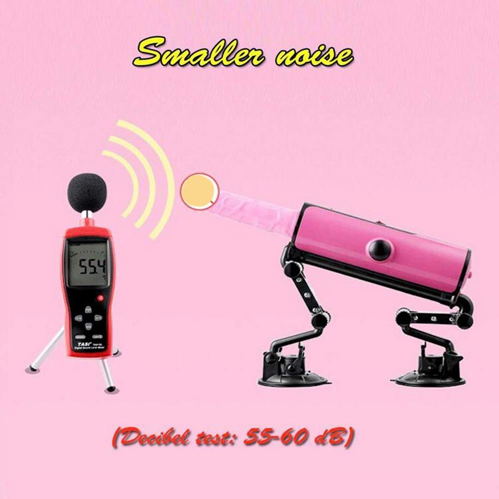 LLMLCF Sex Machine Machine Multi Angle Adjustable Masturbation Tool with Suction Cup Telescopic Dildo Heating Automatic for Female Toy Adult Sex Products by LLMLCF (Image #5)