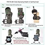 Gosky 20-60 X 80 Porro Prism Spotting Scope-...