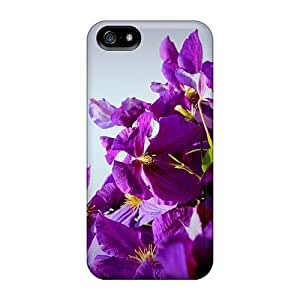 Waterdrop Snap-on Purple Blossoms Case For Iphone 5/5s
