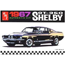 AMT 1967 Ford Shelby GT350 1/25 Scale Plastic Model Kit Black