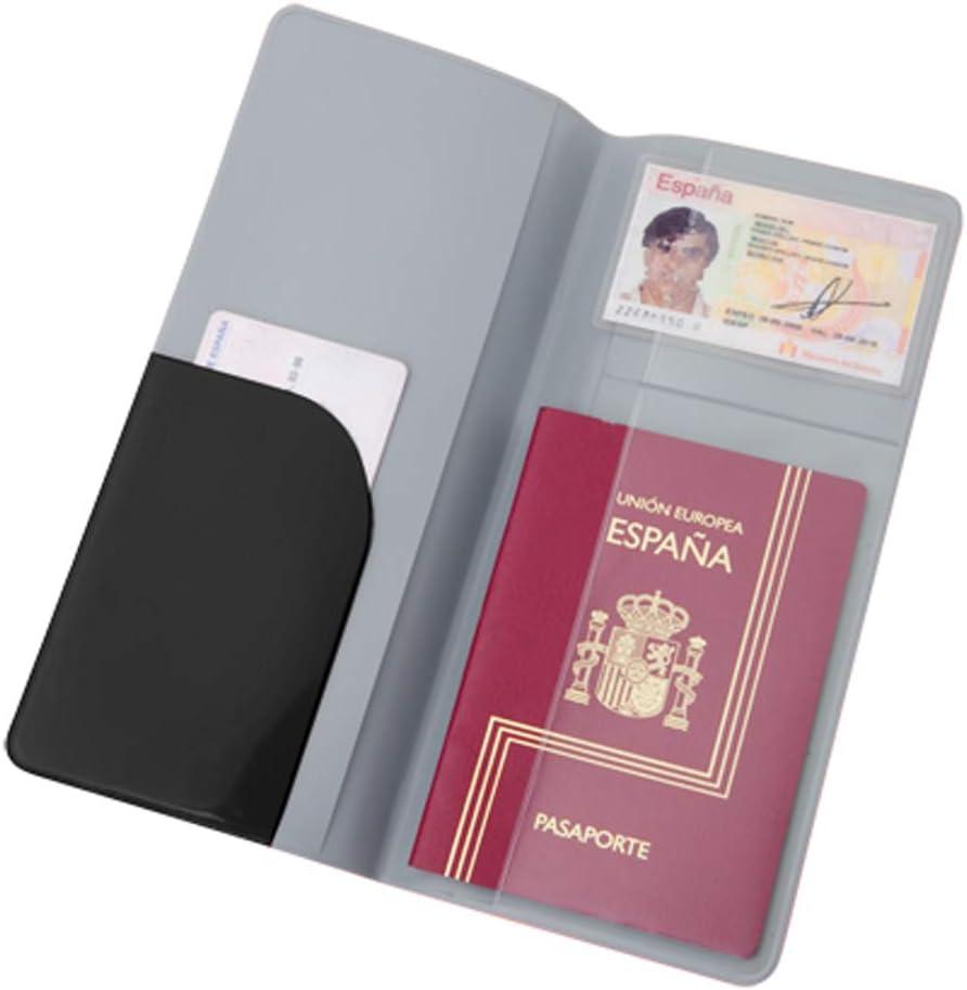Porta Documentos Viaje PVC (Lote DE 10 Unidades): Amazon.es: Equipaje